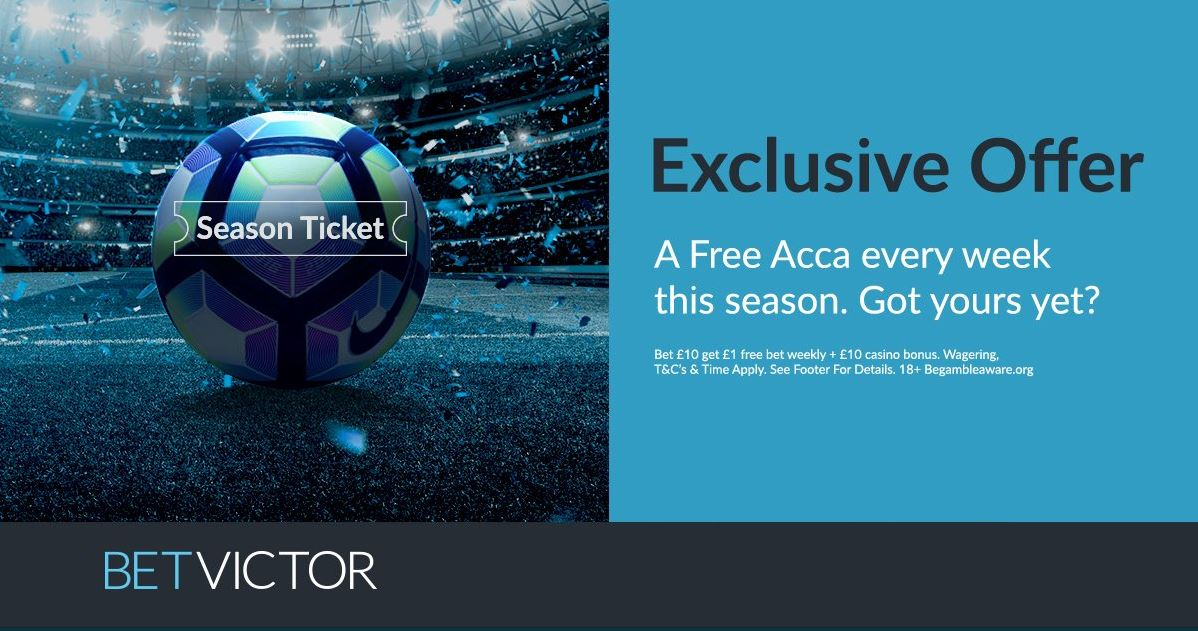 BetVictor Betting Offer