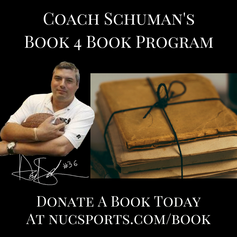 Donate A Book Today At Coach Schuman's Book for Book Program https://t.co/pL0dg1SRST #books #amazon #bookoftheday #oprahbookclub