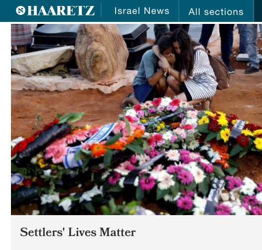 Whatever point this article is trying to make, appropriating #BlackLivesMatter  to gain sympathy for Israeli colonists is reprehensible. <br>http://pic.twitter.com/C23TW3J66i