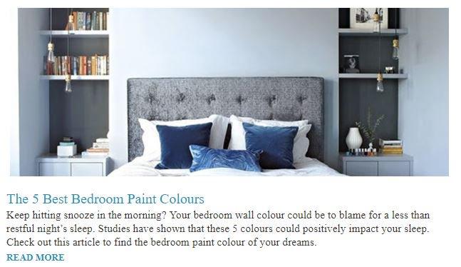 This week @homestars #blog The 5 Best Bedroom #PaintColours For A Restful Sleep: #YouGotThis  https:// goo.gl/svuueX  &nbsp;  <br>http://pic.twitter.com/GENnN2CtND
