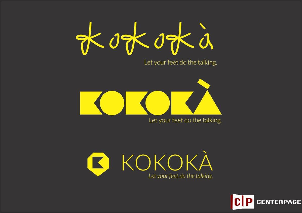 Various designs for Kokoka. If you run a premium shoe outfit, your branding should show it. #branding #graphicsdesign #DigitalMarketing<br>http://pic.twitter.com/u6wVbr3ewi
