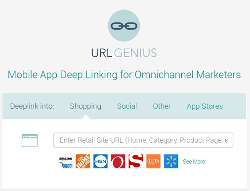 App #deeplinking with easy credit card payment option. Your first 10,000 clicks are free!  https:// app.urlgeni.us  &nbsp;   #agencies #mobilemarketing <br>http://pic.twitter.com/cCvKp1aVgQ