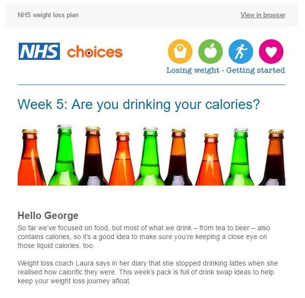 Sign up for 12 weekly emails to support you as you progress through the NHS Choices weight loss plan: https://t.co/ikcb8j6nRG