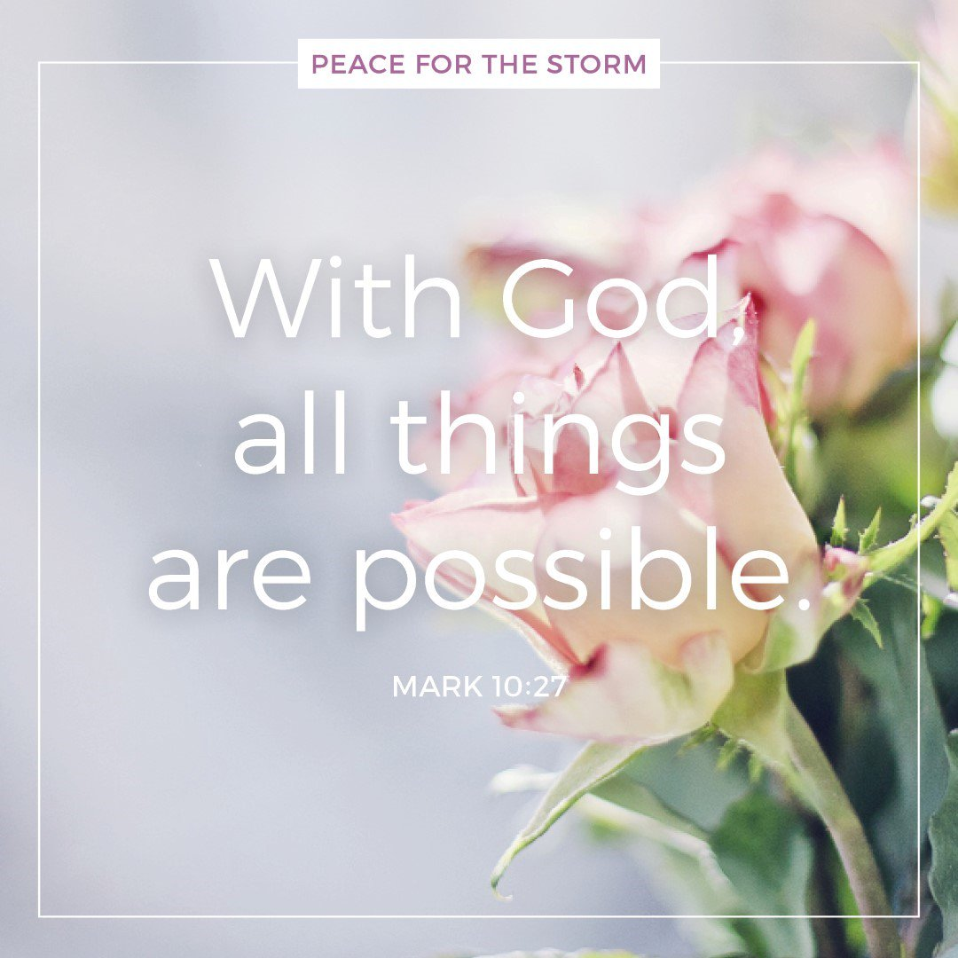 With #God, all things are #possible! #Read the full #verse at  https://www. biblegateway.com/passage/?searc h=Mark+10%3A27&amp;version=NKJV &nbsp; …  @biblegateway #VerseOfTheDay #Bible #Scripture #faith<br>http://pic.twitter.com/YqXejI2J2q