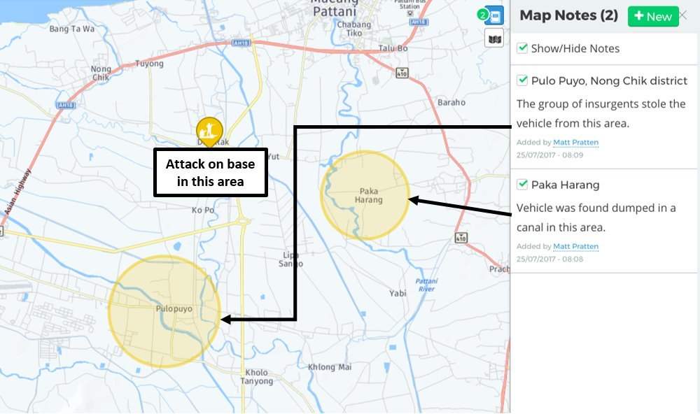 Pattani Thailand Map.Intelligence Fusion On Twitter Post Incident Report Shooting