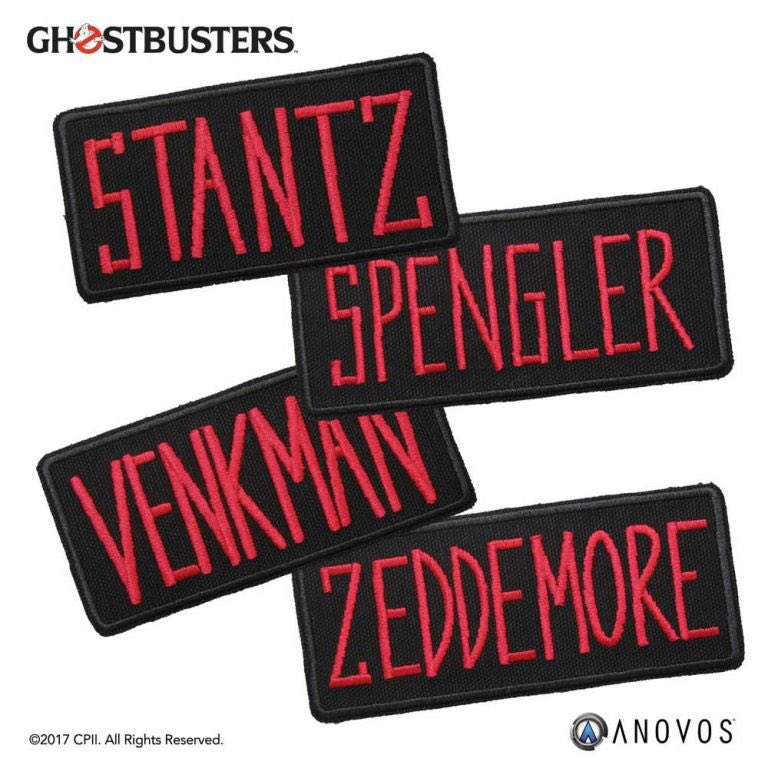 Ghostbusters name patches now in stock via @ANOVOS :  http:// ghostbustersnews.com/2017/07/25/gho stbusters-name-patches-now-stock-via-anovos/ &nbsp; …   #ghostbusters #props #cosplay #anovos <br>http://pic.twitter.com/Mbts0C8lj2