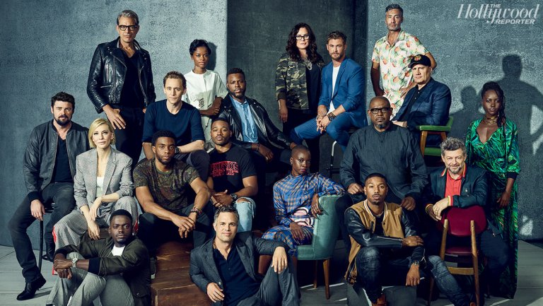 Exclusive: #BlackPanther, #ThorRagnarok casts unite for first Marvel family photo https://t.co/M04nvoz1KZ
