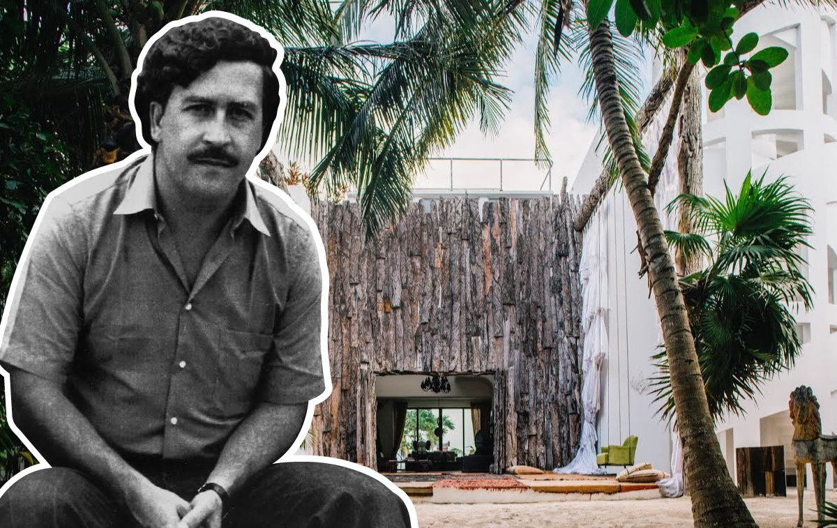 One of Pablo Escobar's former mansions is now a boutique hotel