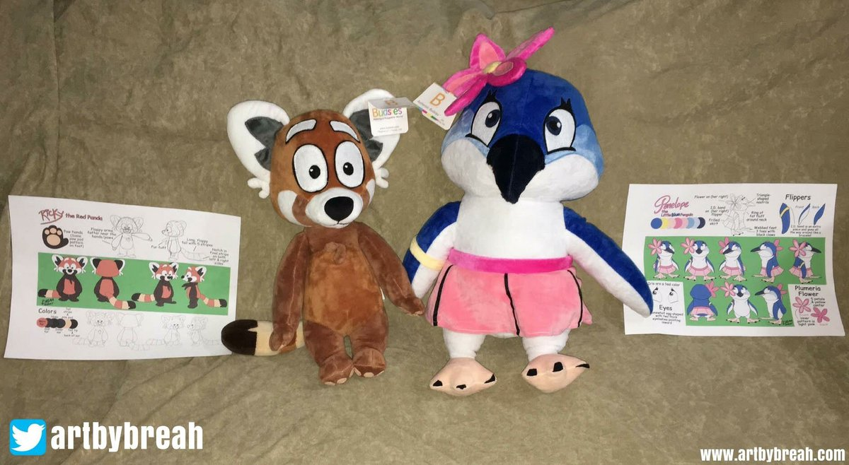 How cute are these Budsies?! Thanks to @ArtByBreah for sharing with us!#budsies #artist #customplush<br>http://pic.twitter.com/WGZPUSdlkL
