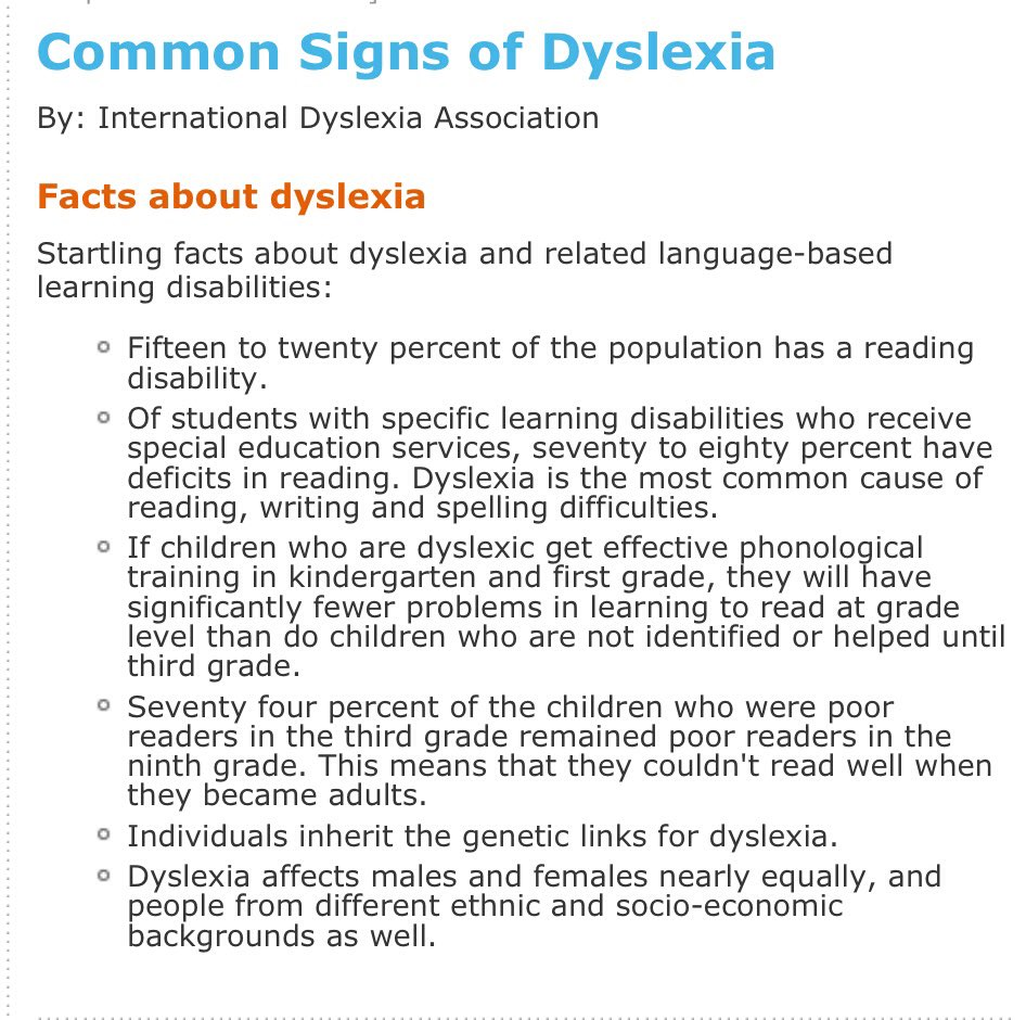 Does your smart child struggle to read? Could it be dyslexia ?  #TuesdayThoughts   http://www. ldonline.org/article/227/  &nbsp;   #education #parenting #children<br>http://pic.twitter.com/50P0WqS3aP