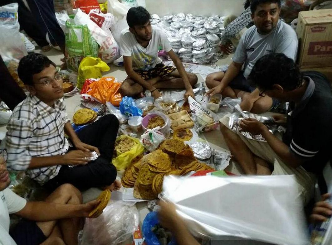 RSS cadres active in 125 flood-hit villages, distribute 60,000 food packets, more relief actions planned