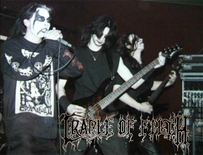 CRADLE OF FITLH  Early years  Today Dani Filth was a Birthday (July 25th, 1973) #BlackMetal #OldSchool #UK #90s <br>http://pic.twitter.com/0jKU9oeY9Q