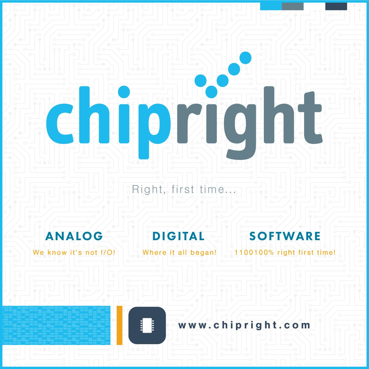 Have a look at one of our cool productions. We had the chance to #design &amp; #develop @Chipright new #Website   http://www. chipright.com / &nbsp;  <br>http://pic.twitter.com/sCVpjvY3lX