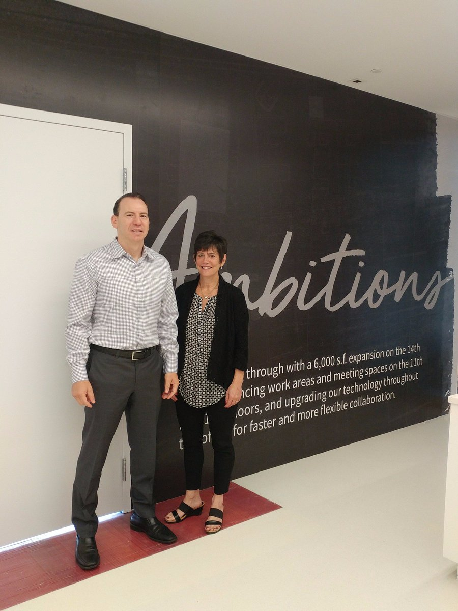 Collaborating @ @JLLATL this morning with @MichaelUlinCRE .  Lots going on team JLL!  Thanks Michael for the energy and ideas.  #Ambitions <br>http://pic.twitter.com/4hPD2YuJLJ