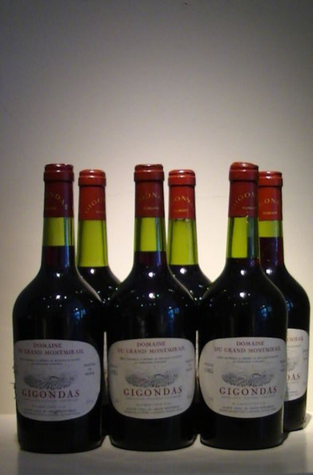 Every single one of these were absolutely beautiful...and now.. they&#39;re all gone  1985 #gigondas Domaine du Grand Montmirail #wine #rhone <br>http://pic.twitter.com/ycariXqVgH