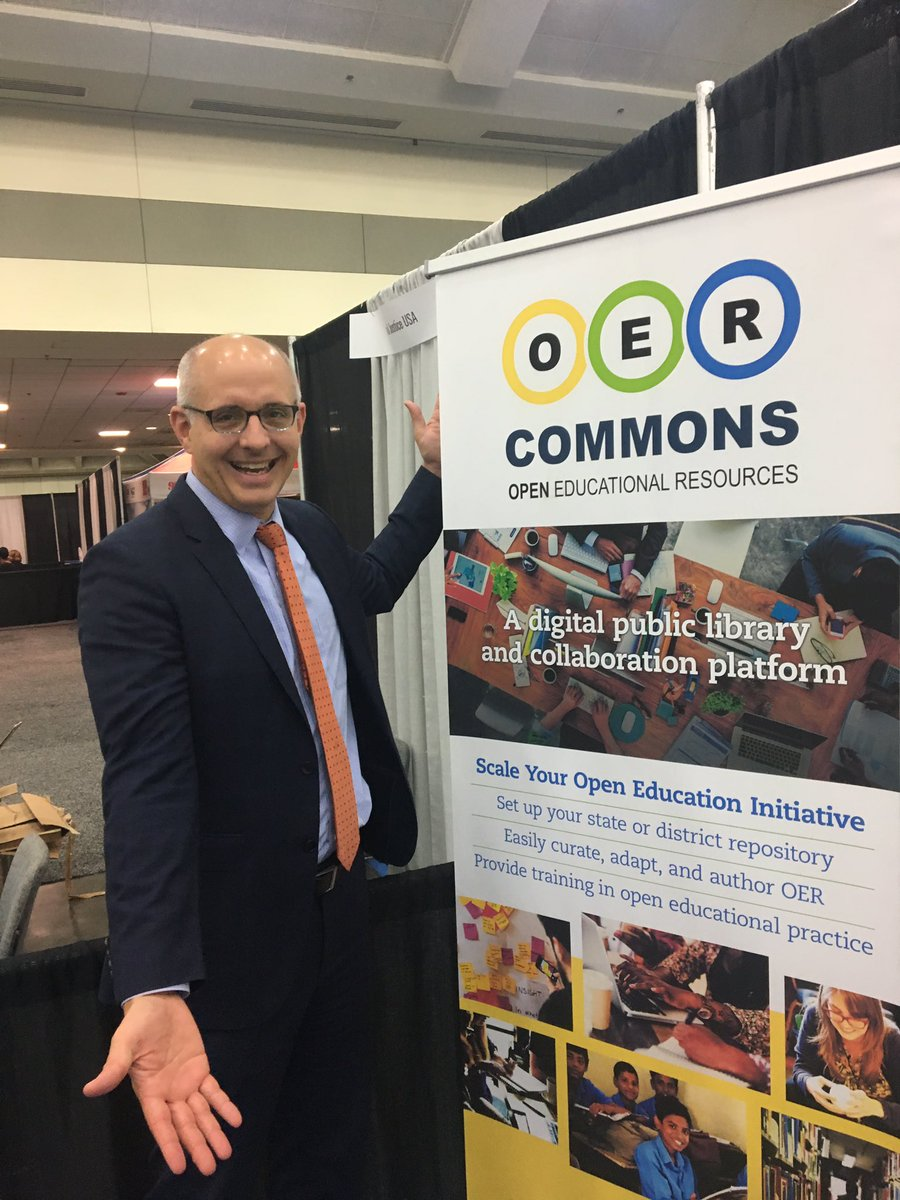 Join @RegLeichty at booth #914 to learn how the @NAACP is working to promote #OER policy #NAACP #NAACP108 #GoOpen<br>http://pic.twitter.com/kR6AAcCx10