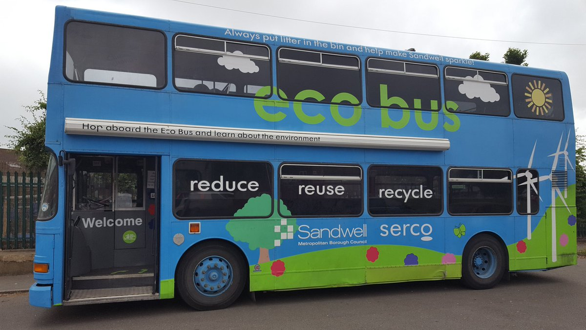 """litter watch on twitter: """"great eco bus day with tameside playscheme"""