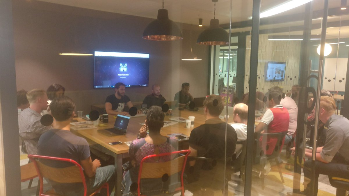 Thanks everyone for coming to the Node Master workshop #Masternode #ICO #cryptocurrency #Blockchain #London #Mastertoads @pepecoins<br>http://pic.twitter.com/6oNbv26gms