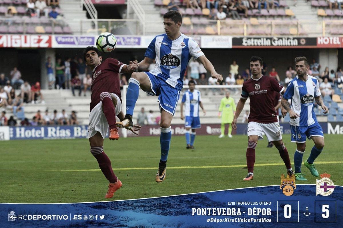 DFm6JcOXgAENCFL CRÓNICA: Pontevedra 0-5 Deportivo - Comunio-Biwenger