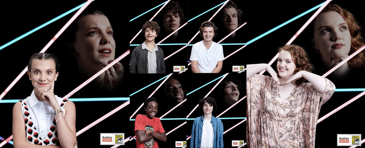 Strangerthings Stars Show You Their Best Cheesy 80s Year Book Poses Sdcc