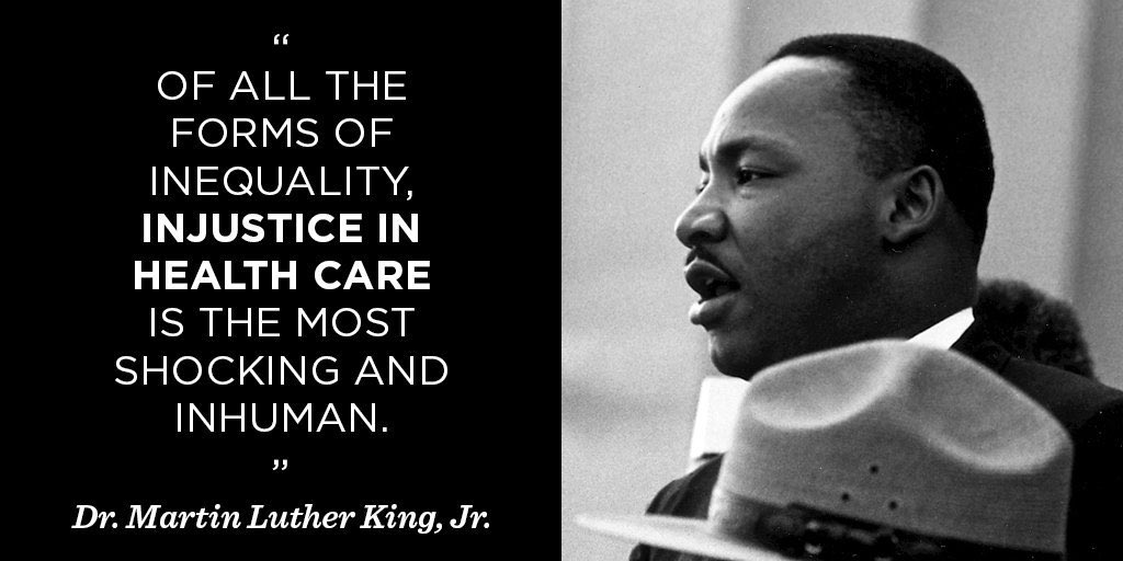 A Word from My Father. #MLK #Healthcare
