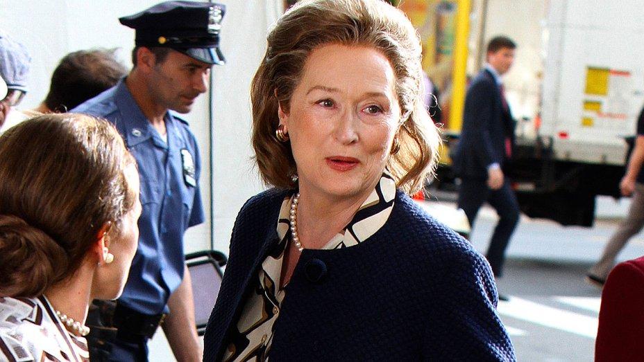 See Meryl Streep as Katharine Graham for Steven Spielberg's #PentagonPapers movie thr.cm/I9TU55