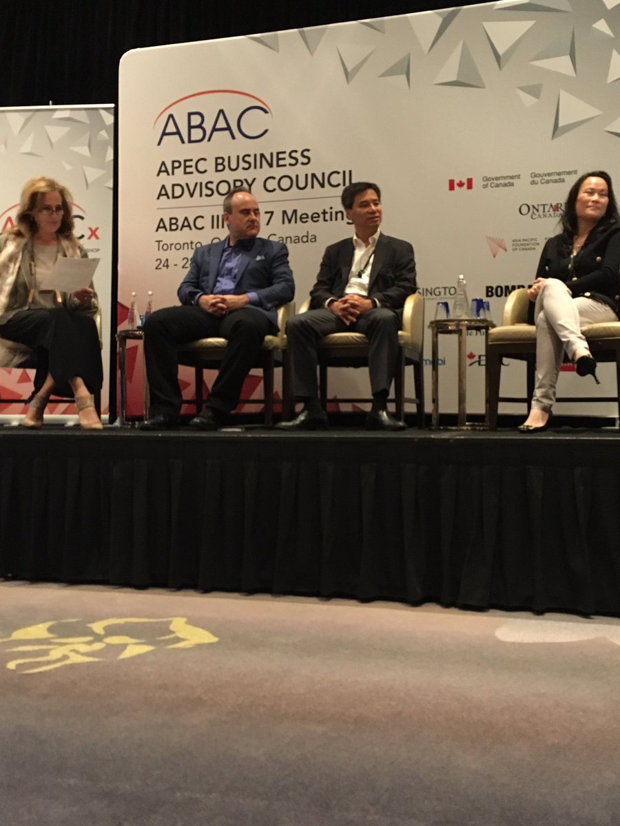 Supporting @ruffoloj of @OMERSVentures at the @AsiaPacificFdn ABAC III 2017 meeting #startups #investment <br>http://pic.twitter.com/9WMUMTmYjq