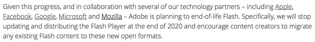 "Lol. Adobe: ""Flash is dead!"" Apple: ""We know. We killed it"""