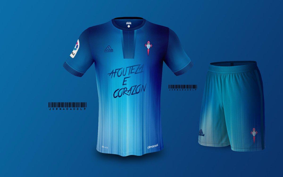 🔷 Celta de Vigo Kit Concept 🔹 #Celta #Vigo #LaLigaSantander