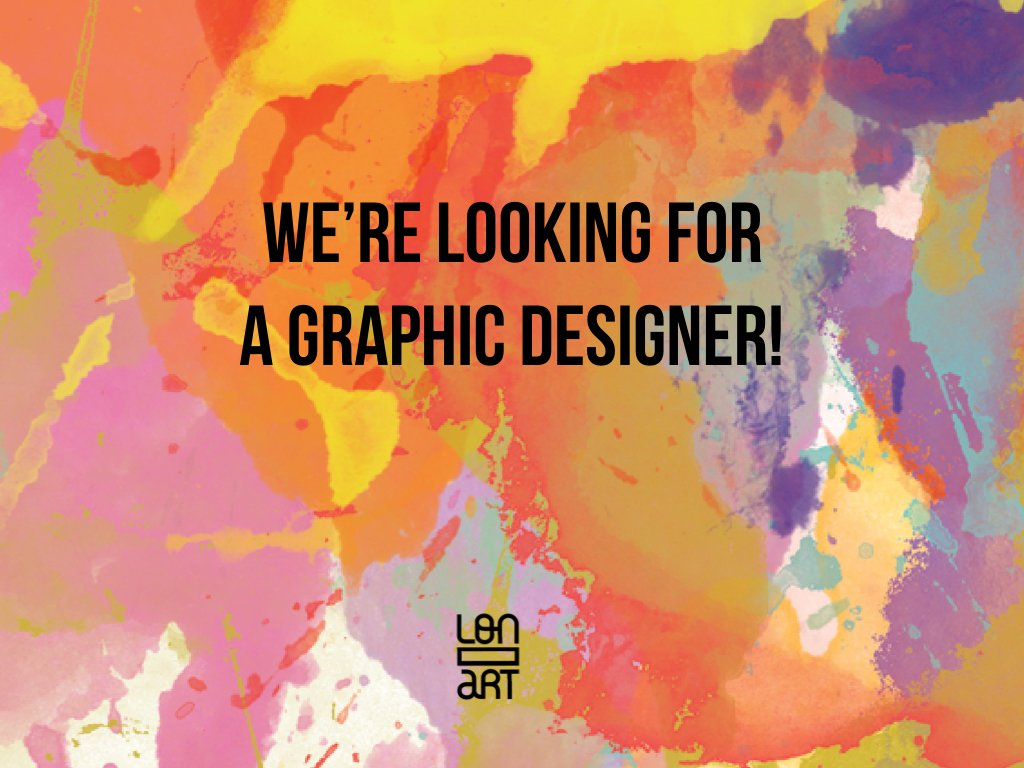 We are looking for a #graphic #designer to work on the branding for our next exhibit. Do yo know anyone?! Details:  http:// bit.ly/2h0250Q  &nbsp;  <br>http://pic.twitter.com/qzLVrtLzLJ