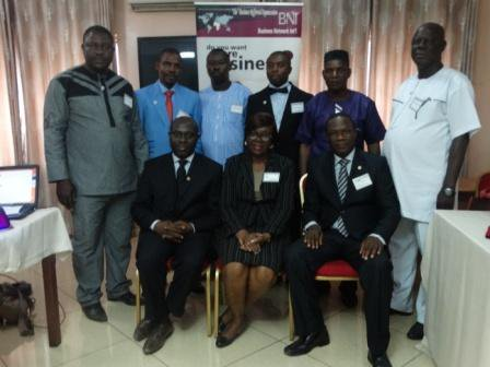 Leadership Team of BNI Gateway Chapter with BNI Directors