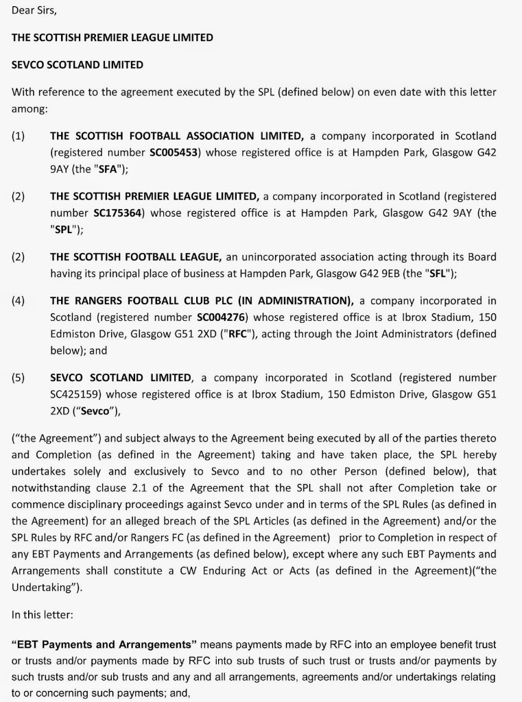Rangers Tax Case On Twitter Key Question For A Legal Review Was