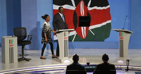 Au #Kenya, Uhuru Kenyatta boude le débat présidentiel et laisse Raila Odinga seul en scène https://t.co/dboliF739a