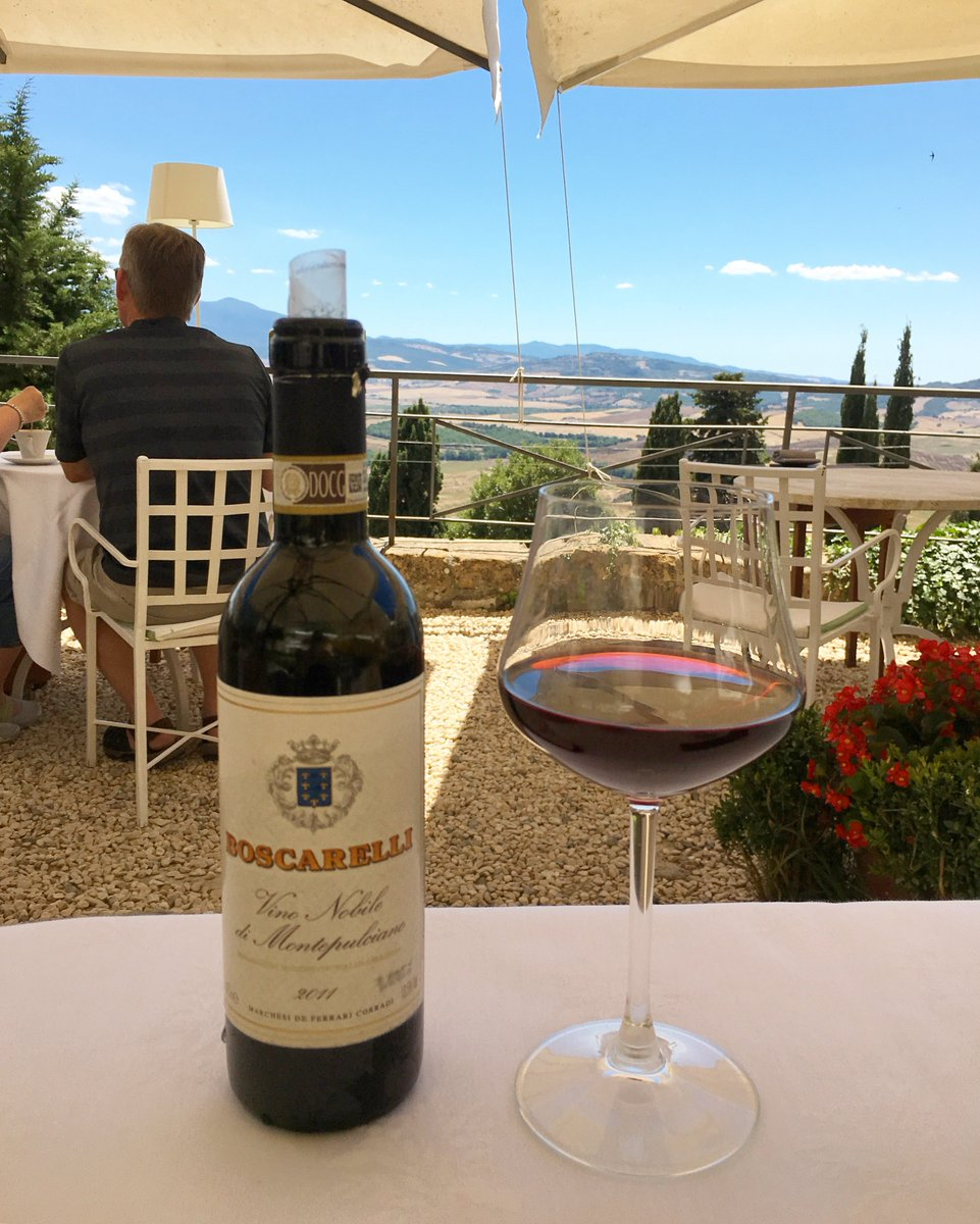 Not enough people drink Vino Nobile de Montepulciano. After my recent trip, I wrote a primer on why you should  https:// chasingthevine.wordpress.com/2017/07/25/why -you-should-discover-vino-nobile-di-montepulciano-tuscanys-affordable-secret/ &nbsp; …  #wine <br>http://pic.twitter.com/t53PF9fX4r