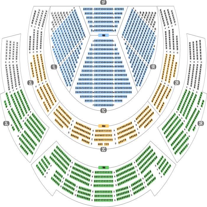 【新日本プロレス】本日7/26公演のホール座席表をチェック 仙台サンプラザホール...