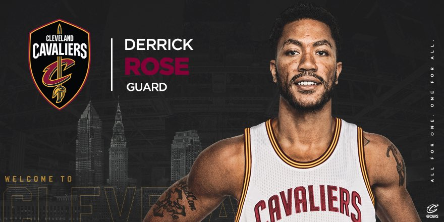 Welcome to The Land, @drose!   DETAILS: https://t.co/cQtuj7F47a   #AllForOne