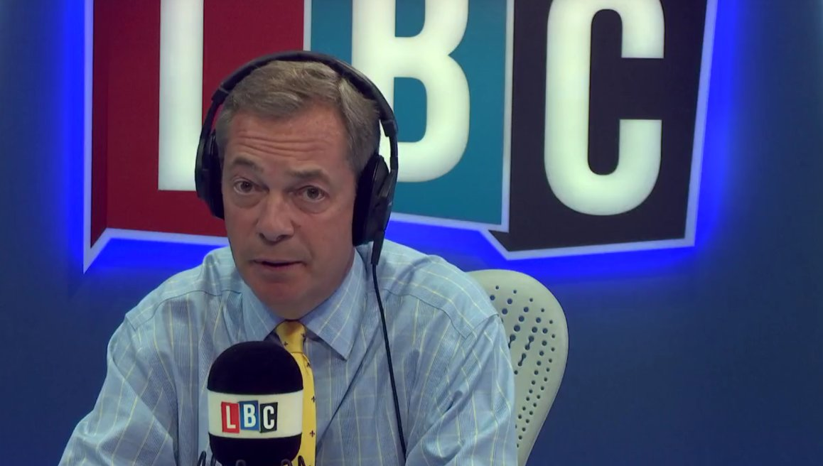 .@Nigel_Farage is live on LBC discussing the case of Charlie Gard. WATCH: https://t.co/3Ko4jnviE0 #FarageOnLBC https://t.co/gxd92CASFC