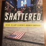 Morgen mijn blog op @USA365nl over dit boek, Shattered, over de ontluisterende en soms onthutsende campagne van @HillaryClinton #Amerika