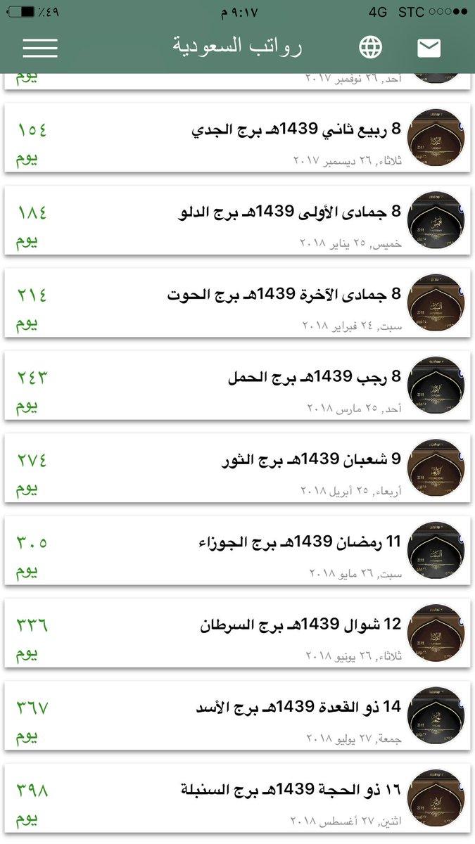 اجازة الموظفين رمضان 1439