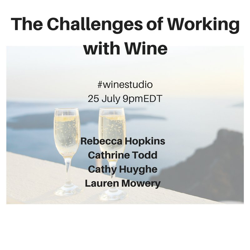 Check into the #WineStudio tonight 9 PM EDT. We&#39;ll be discussing health, well-being and staying balanced while working in the #wine business <br>http://pic.twitter.com/CPocSlv7XW