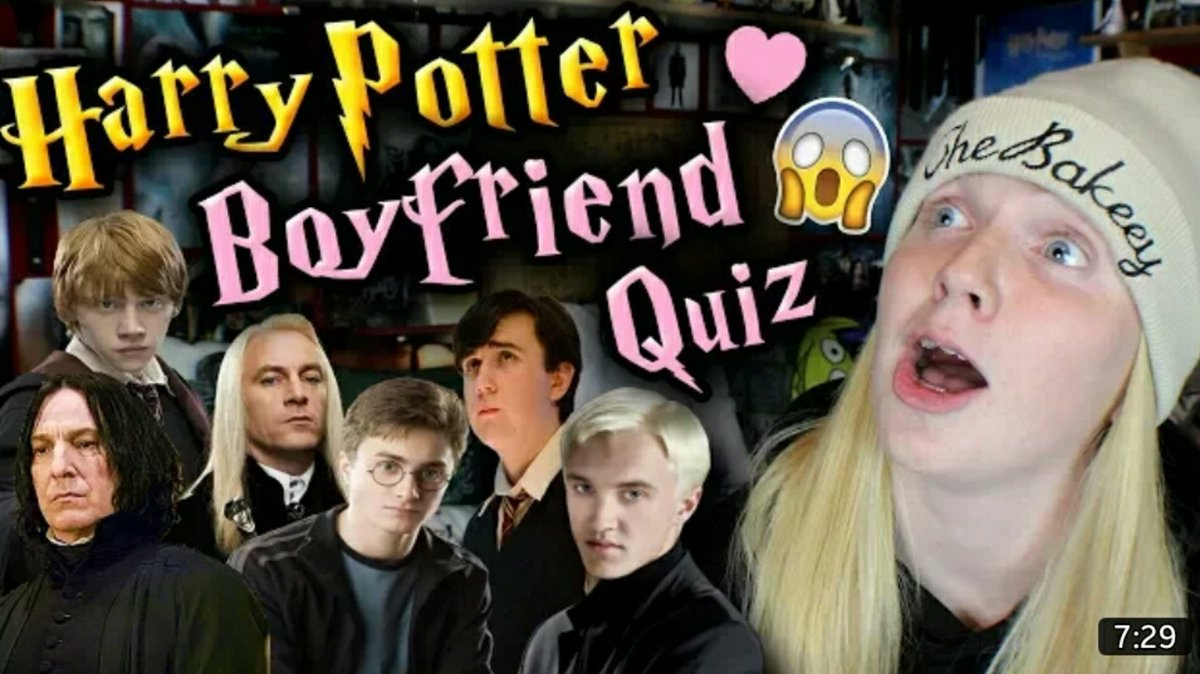 boyfriend quiz harry potter | Image Slny