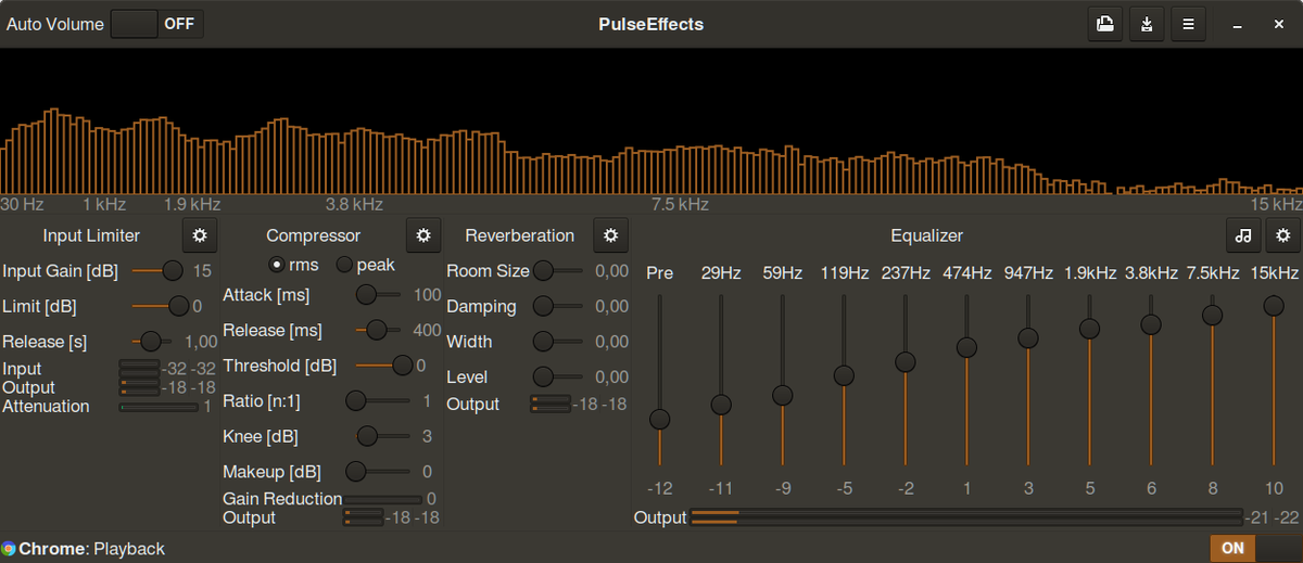 Pulseeffects Presets