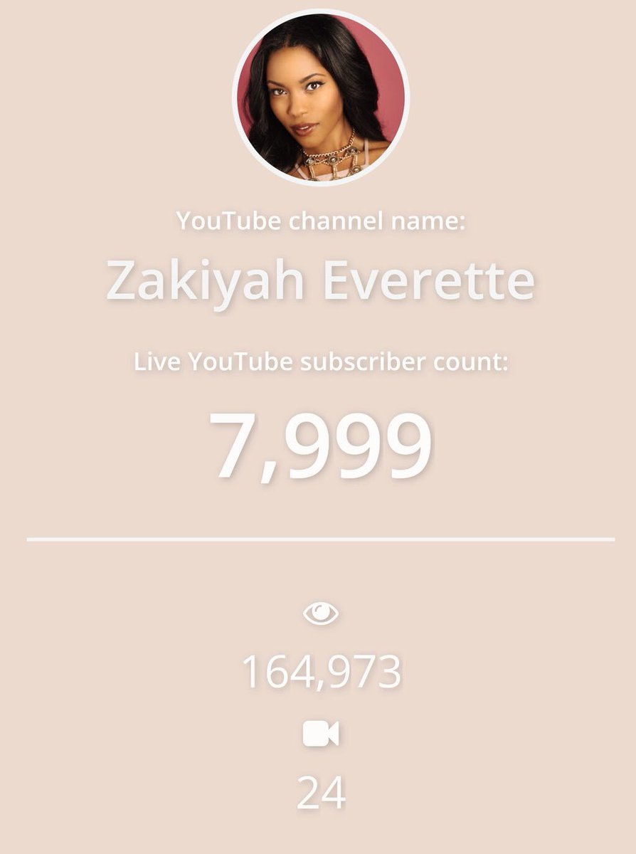 About to show up to the #ZakiyahHits8Kparty @zakiyaheverette is 1 #sub away from #8Ksubscribers #letsgo #makeup #blogger #tuts #hairstyles<br>http://pic.twitter.com/4gvSI7IEwy