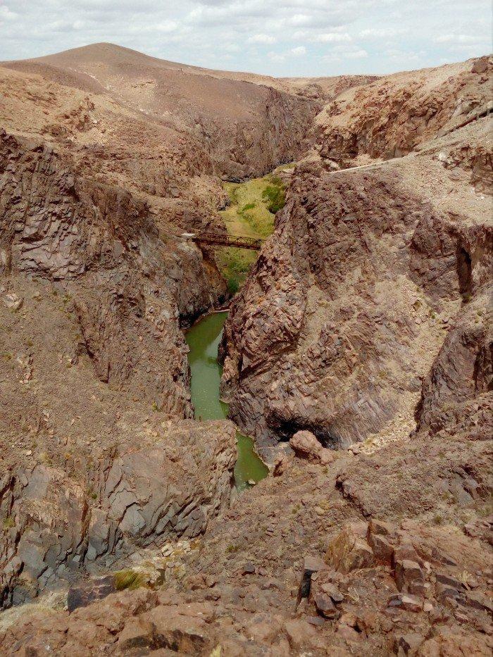 #Antofagasta ✵ Chiflón del Diablo, Río S...