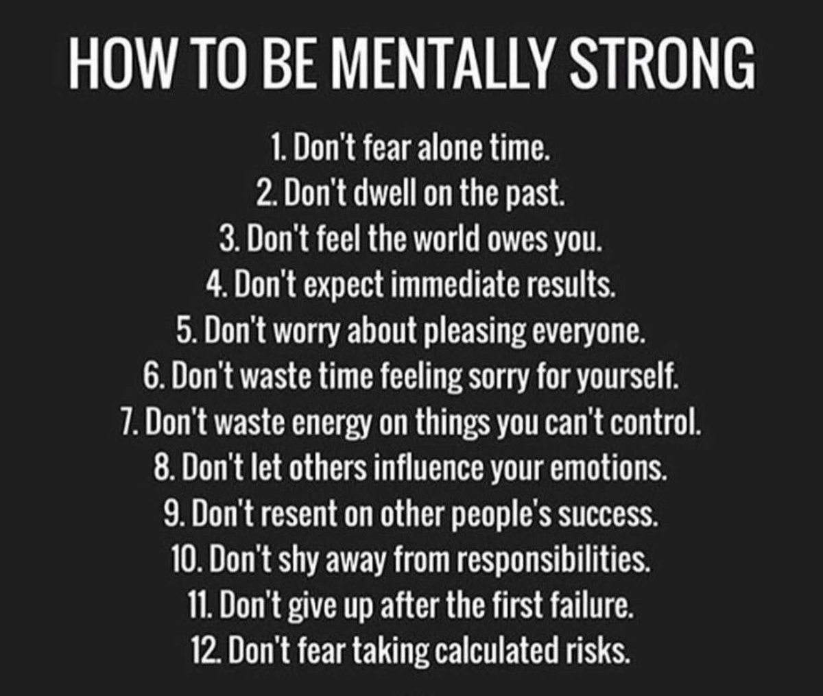 How to be mentally strong  #leadership #coaching #insperation #Mindset #Influence @RAwamleh #challenge #selfconfidence #women #lifestyle<br>http://pic.twitter.com/AsE8wxR6nH
