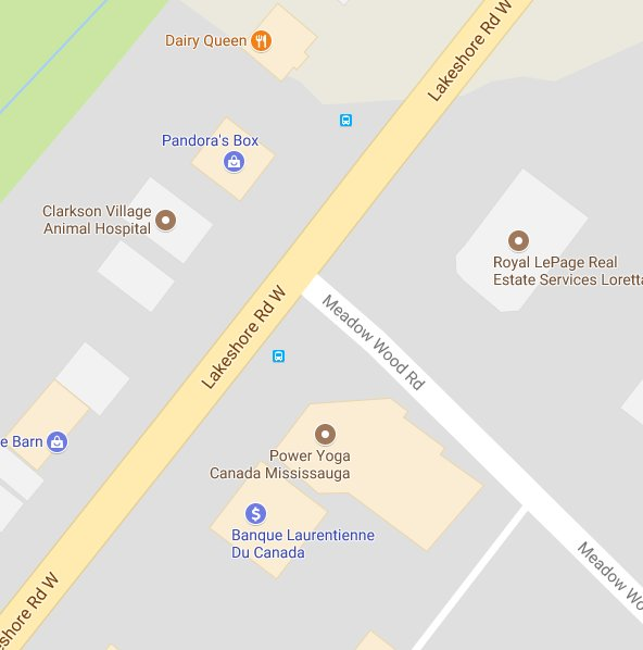 #PRPMVC pedestrian struck in the area of Lakeshore road west and Meado...