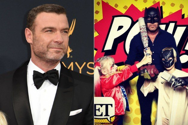 Liev Schreiber's son went as Harley Quinn to Comic-Con and it's honest...