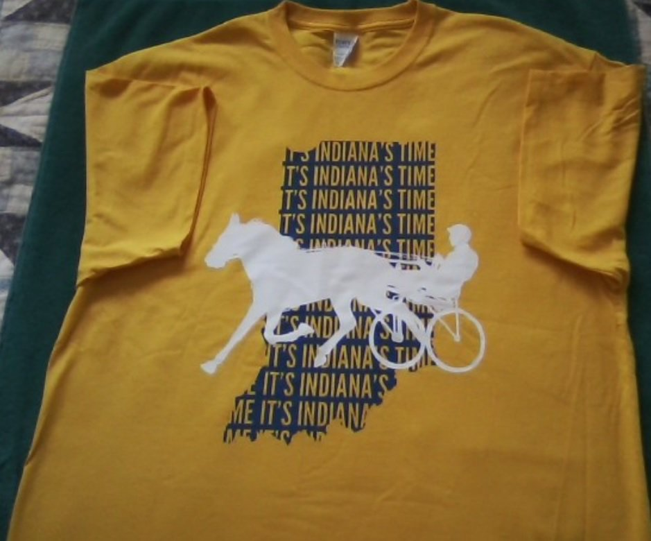 Thank you so much @HoP_Racing for the awesome #breederscrown shirt! So cool! #PlayHP #Indiana #swag #harnessracing <br>http://pic.twitter.com/WLSd0LqvnJ