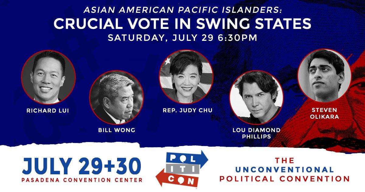#AAPI: Crucial Vote in Swing States ft. @RichardLui @BillWongLLC @RepJudyChu @LouDPhillips @StevenOlikara! Tix:  http:// goo.gl/u3kseV  &nbsp;  <br>http://pic.twitter.com/hqt2OkJbQo