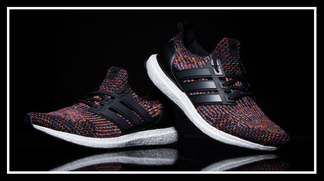 Vibrant. @adidas Ultraboost LTD 'Multi' now in select stores!